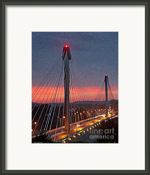 At Dusk Framed Print By Tam Ishmael - Eizman