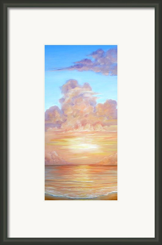 Awakening Framed Print By Christine Louise Bryant