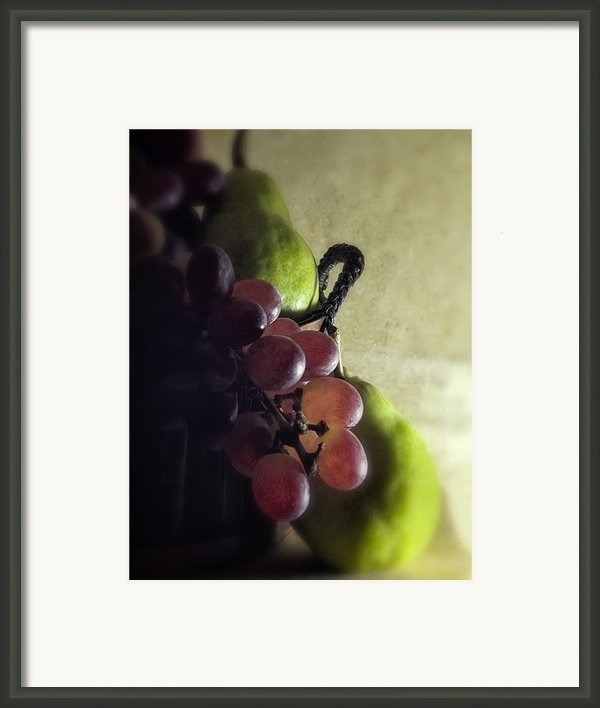 Back Lit Grape Still Life Framed Print By Andrew Soundarajan
