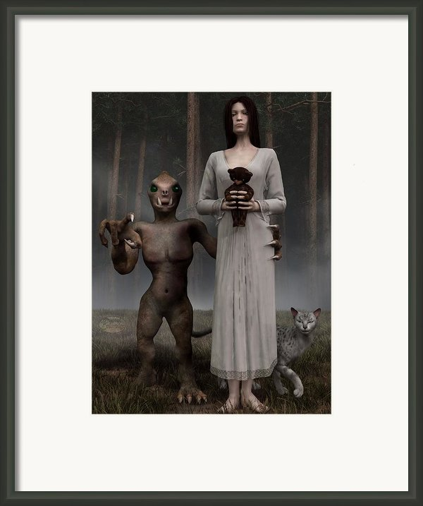 Bad Influence Framed Print By Daniel Eskridge