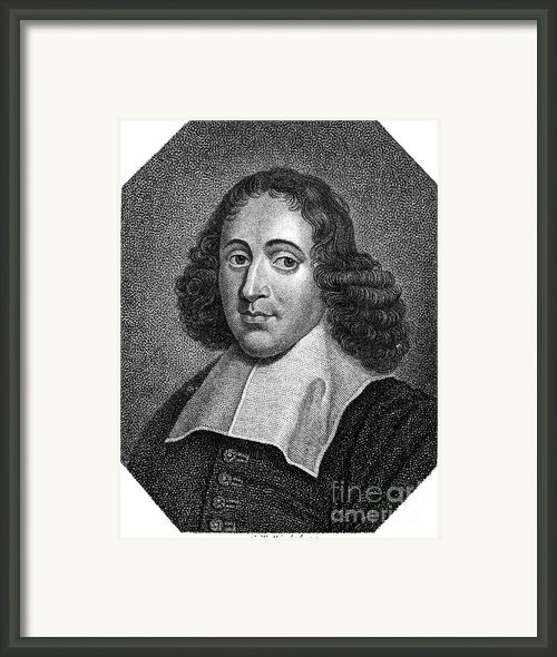 Baruch Spinoza (1632-1677) Framed Print By Granger