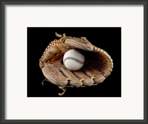 Baseball Framed Print By Felix M Cobos