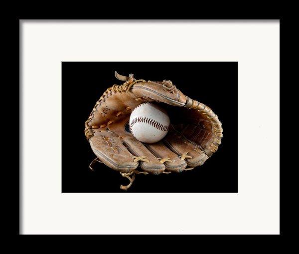 Baseball Framed Print By Felix M Cobos