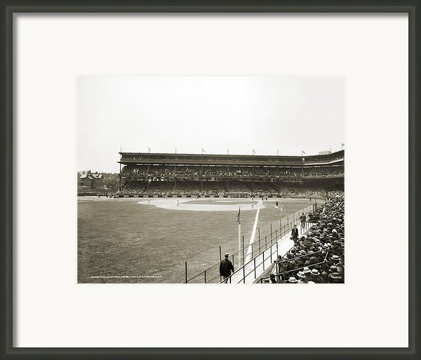 Baseball Game, C1912 Framed Print By Granger