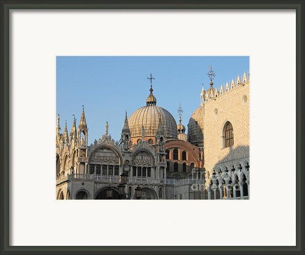 Basilica San Marco Framed Print By Bernard Jaubert