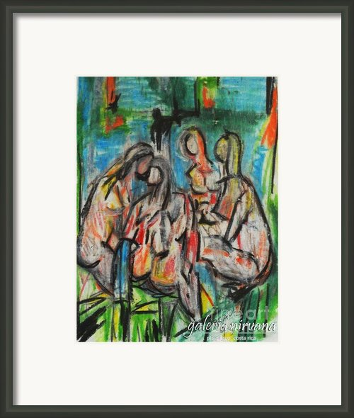 Bathers 98 Framed Print By Bradley