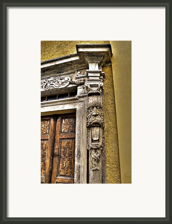 Be Welcome ... Framed Print By Juergen Weiss