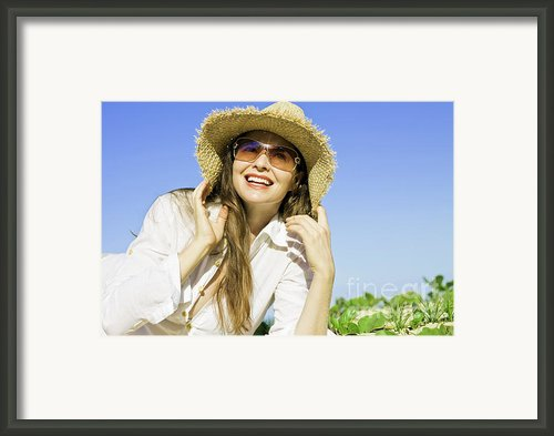 Beach Life Framed Print By Johan Larson