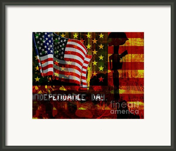 Behind The Scenes Framed Print By Fania Simon