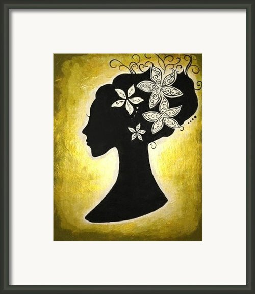 Bella Dama Framed Print By Brandy Nicole Clark