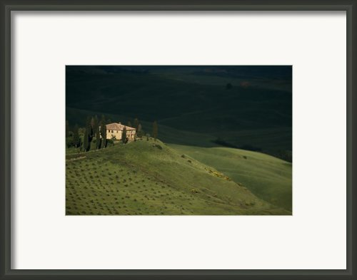 Belvedere House Framed Print By Andrew Soundarajan