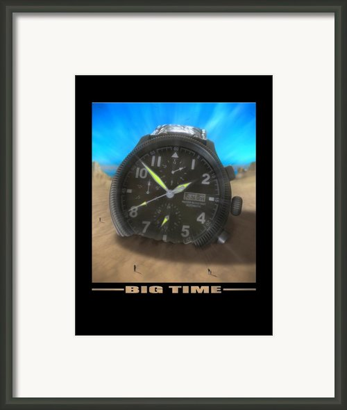 Big Time Framed Print By Mike Mcglothlen