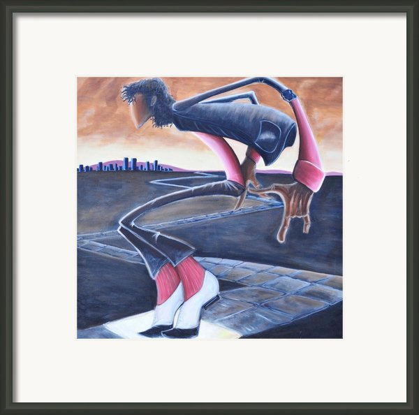 Billie Jean Framed Print By Tu-kwon Thomas
