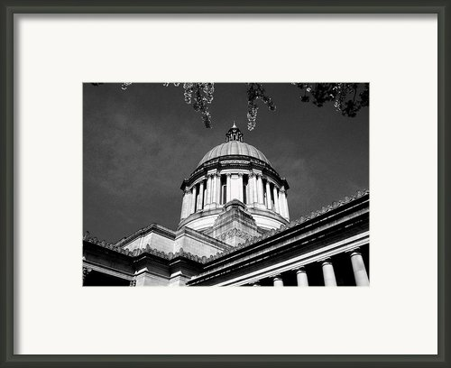 Black And White Framed Print By Kevin D Davis