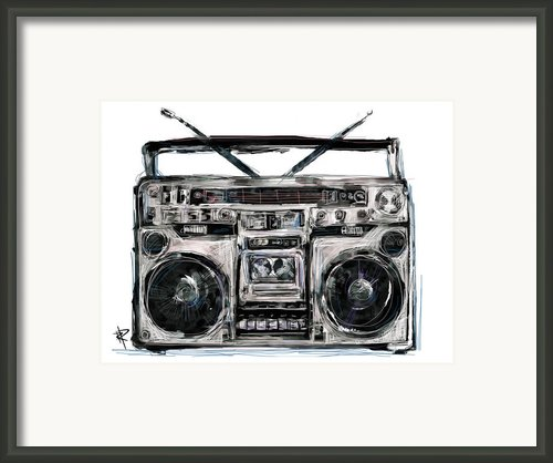 Boom Framed Print By Russell Pierce