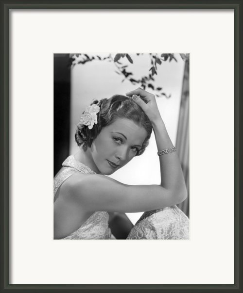 Born To Dance, Eleanor Powell, 1936 Framed Print By Everett
