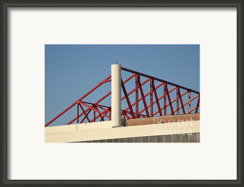 Building Detail Framed Print By Blink Images