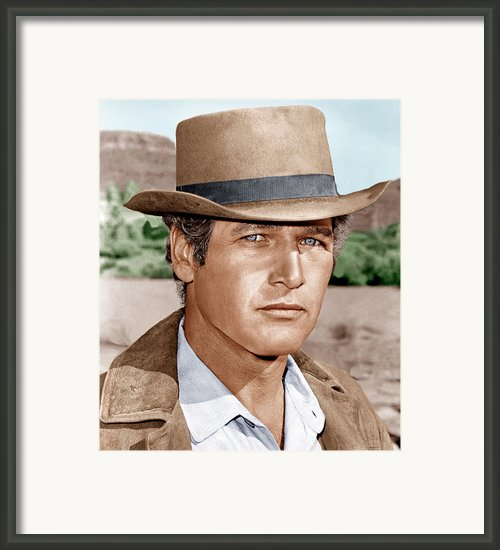 Butch Cassidy And The Sundance Kid Framed Print By Everett