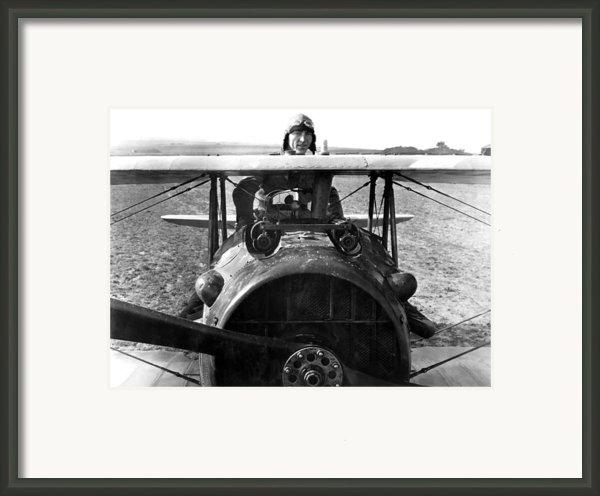 Captain Eddie Rickenbacker  Framed Print By War Is Hell Store