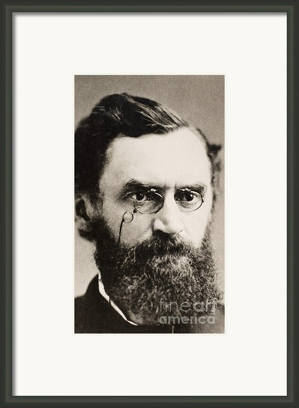 Carl Schurz (1829-1906) Framed Print By Granger