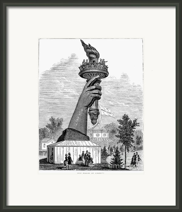 Centennial Fair, 1876 Framed Print By Granger
