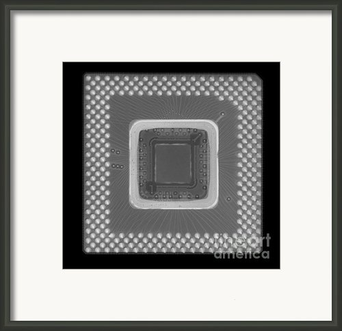 Central Processor Framed Print By Ted Kinsman