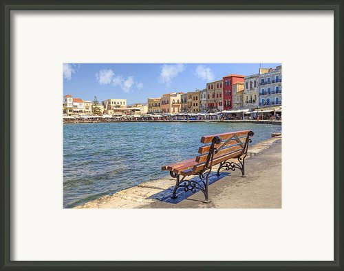 Chania - Crete Framed Print By Joana Kruse