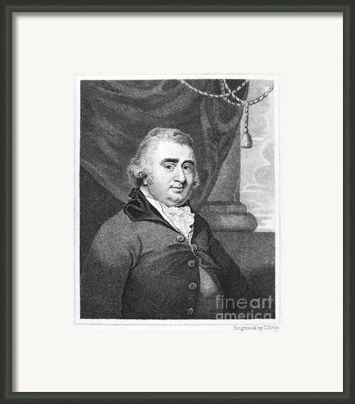Charles Fox (1749-1806) Framed Print By Granger