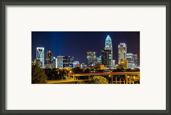 Charlotte Nc Framed Print By Brian Young