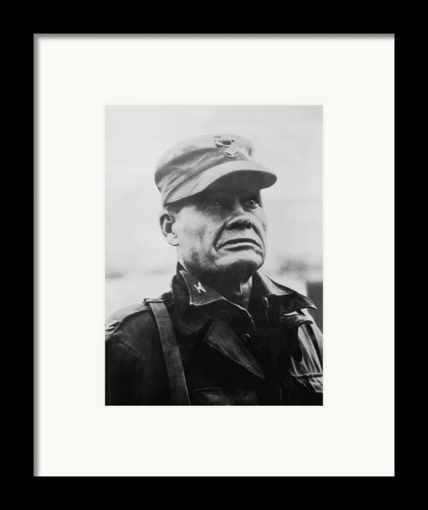 Chesty Puller Framed Print By War Is Hell Store