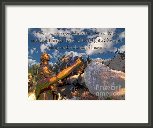 Coming In The Clouds Framed Print By Glenn Mccarthy Art And Photography