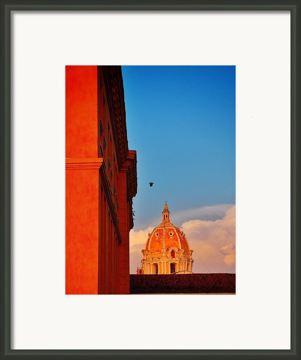 Corona Framed Print By Skip Hunt