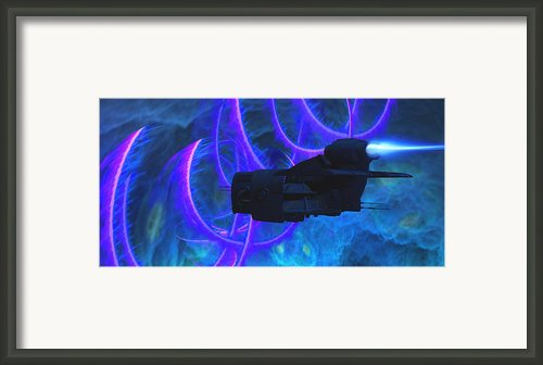 Cosmic String Framed Print By Corey Ford