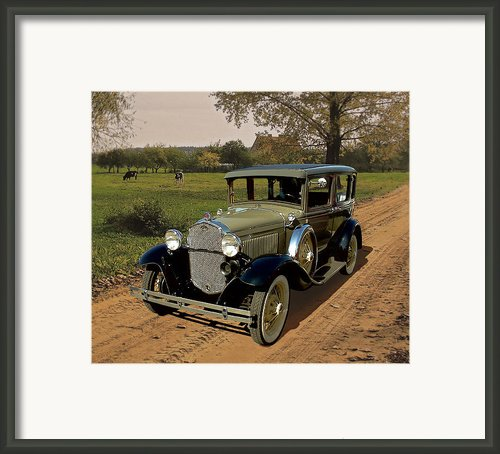 Country Road Framed Print By Harry West