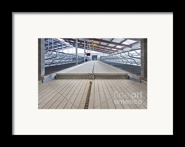 Cowshed Dung Scraper Framed Print By Jaak Nilson