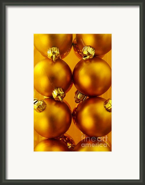 Crhistmas Decorations Framed Print By Carlos Caetano