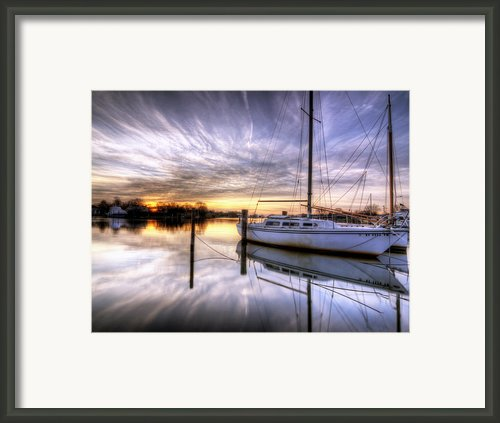 December Sunrise Framed Print By Vicki Jauron