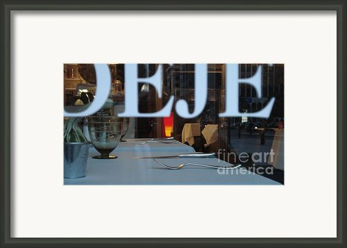 Deje Framed Print By Contemporary Luxury Fine Art