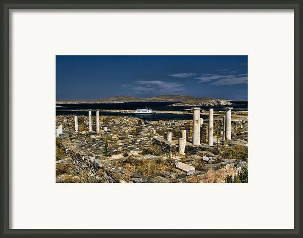 Delos Island Framed Print By David Smith