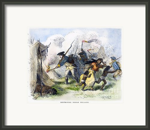 Destroying Villages, 1791 Framed Print By Granger