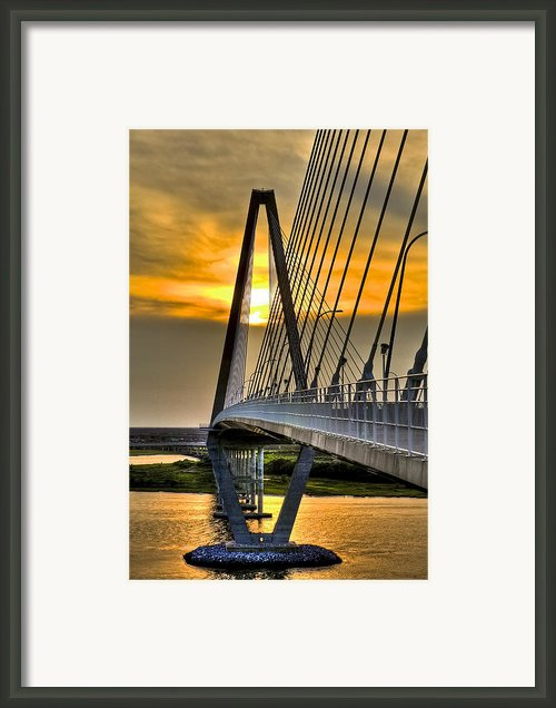 Diamond Sunset Framed Print By Drew Castelhano