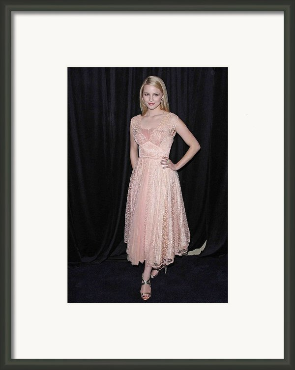 Dianna Agron In Attendance For The 9th Framed Print By Everett