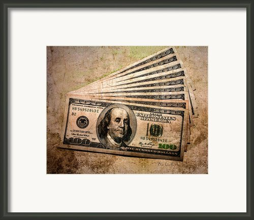 Dirty Money Framed Print By Bob Orsillo