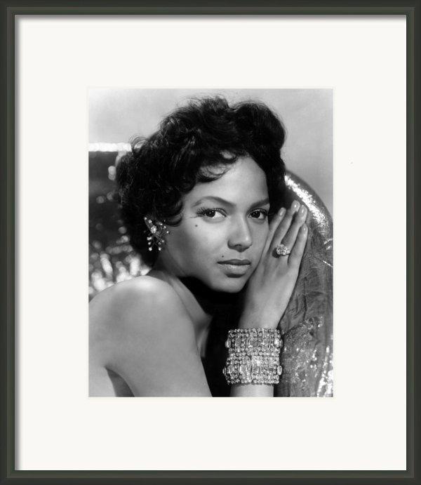 Dorothy Dandridge, Circa 1959 Framed Print By Everett