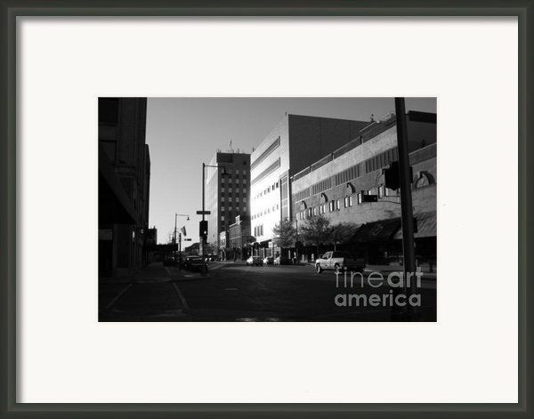 Downtown Appleton Framed Print By Joshua Fronczak