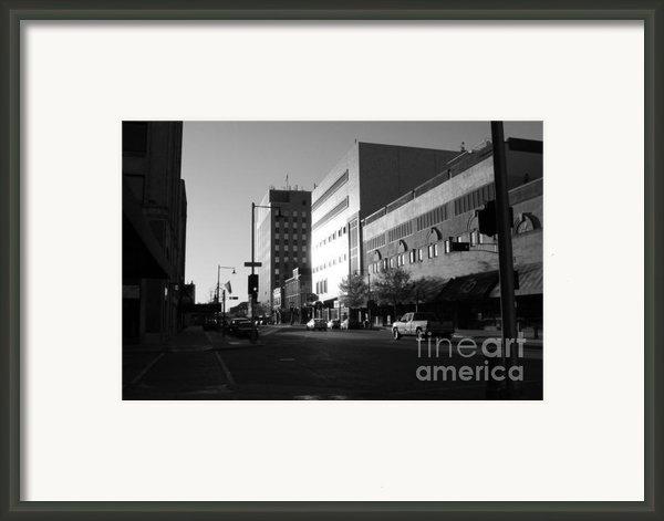 Downtown Appleton Framed Print By Joshua Fronczak