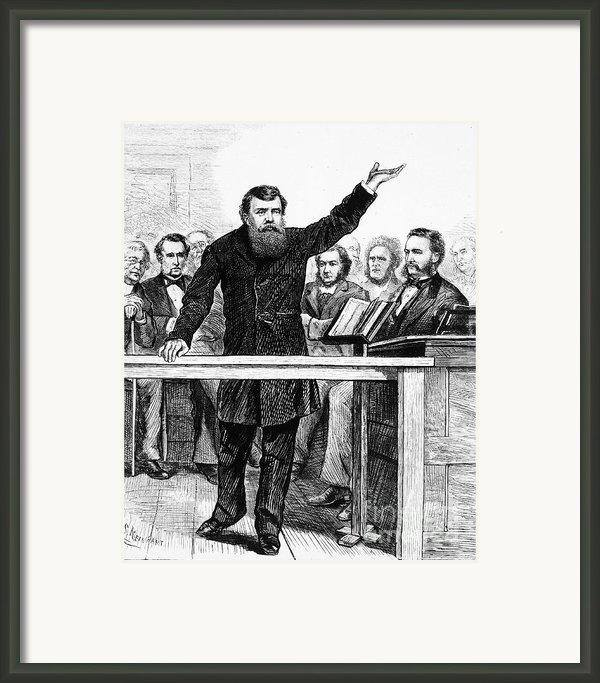 Dwight Lyman Moody Framed Print By Granger