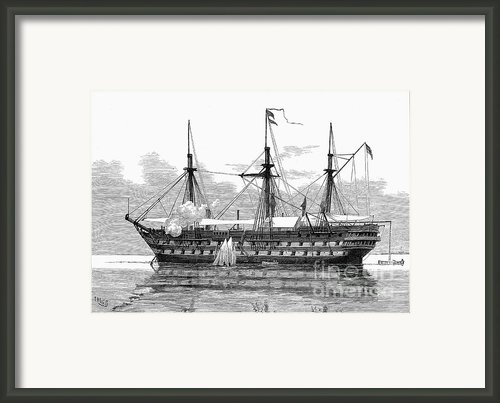 East Africa: Slave Trade Framed Print By Granger