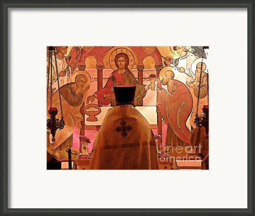 Easter Vigil Framed Print By Sarah Loft