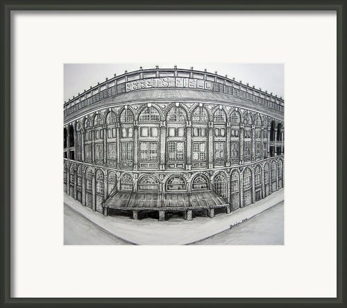 Ebbets Field Framed Print By Juliana Dube